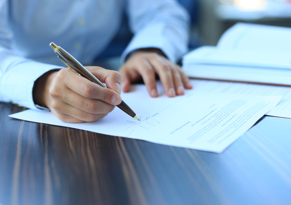 Image of Business Sale Contract